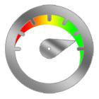 Fast website design icon